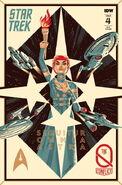 Star Trek The Q Conflict 4 cover RI
