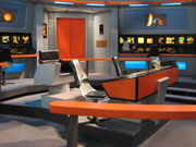 USS Defiant (NCC-1764) bridge, behind-the-scenes
