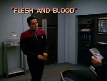 Flesh and Blood title card