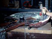 D'Kora class studio model receiving lighting rig
