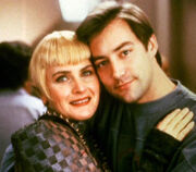 Denise Crosby and Guy Vardaman