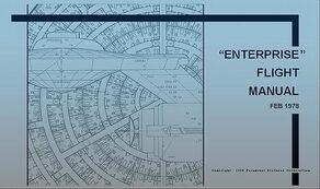 Enterprise Flight Manual 1st edition cover.jpg