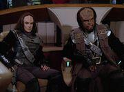 K'Ehleyr und Worf Kommando