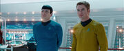 Kirk and Spock embark on five year mission