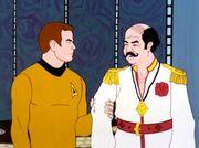 Kirk verhaftet Mudd