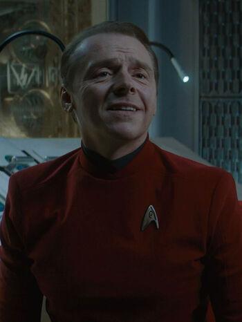 "Scotty in <a href=""/wiki/2263"" title=""2263"">2263</a>"