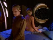 Odo zeigt Gründerin Intimität Solids