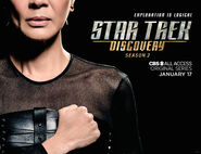 Star Trek Discovery Season 2 Philippa Georgiou banner