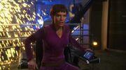 T'Pol auf der beschädigten Enterprise