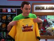 T-Shirt der Wesley Crushers