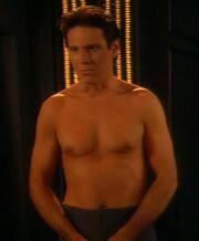 Bareil Antos shirtless