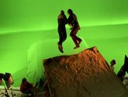 Fire Caves green screen