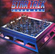 Franklin Mint Star Trek Chess Set