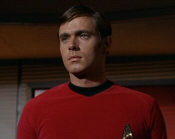 ...as Ensign Garrovick.