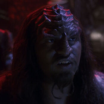...as the Klingon helmsman
