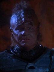 Neelix als Klingone