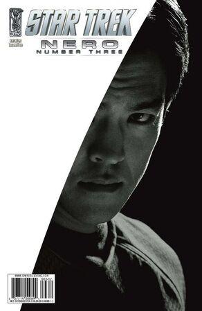 Nero issue 3 RI cover