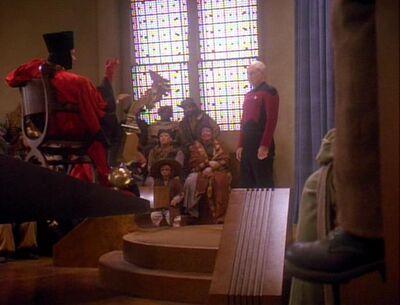 Picard und Q