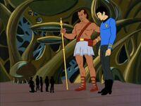 Spock 2, Keniclius 5, and Enterprise crew