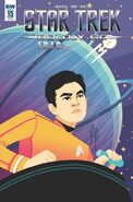 Star Trek Boldly Go, issue 15 RIB