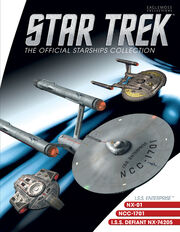 Star Trek Official Starships Collection Mirror Universe 3-pack cover