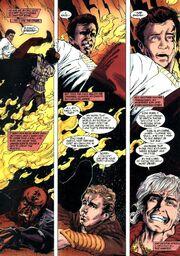 Battle of Genesis transformation in James T. Kirk's nightmare