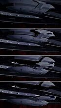 Sovereign class captain's yacht deployment as executed on screen