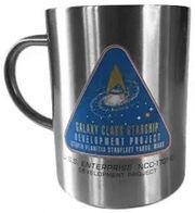 Star Trek TNG Build The USS Enterprise-D gift 3 mug