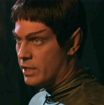 Talok disguised as a Vulcan
