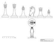 3-D-Figurensatz