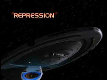 Repression title card