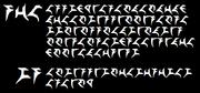 Klingon script