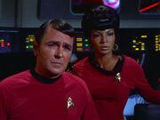 Montgomery Scott and Nyota Uhura, 2267