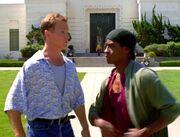 Paris und Tuvok im Jahr 1996