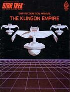 Ship Recognition Manual-The Klingon Empire (First Edition)