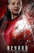 Star Trek Beyond Uhura Poster revised