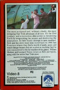 Star Trek IV Video 8 back cover