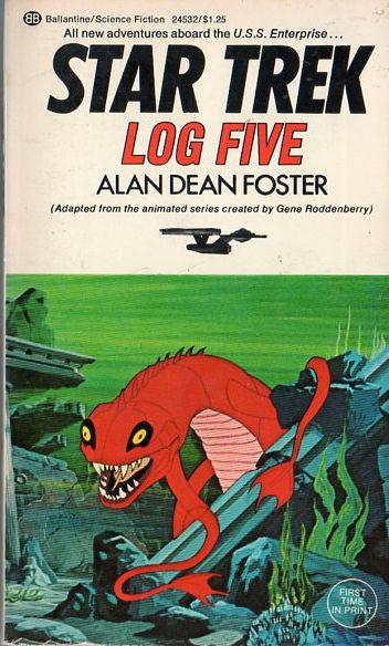 Image result for star trek log five cover