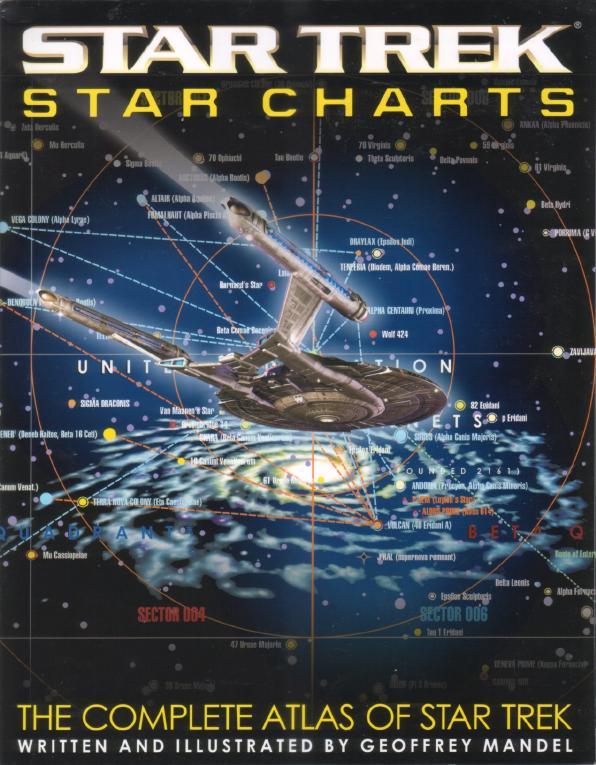 Star Trek Star Charts Memory Alpha Fandom Powered By Wikia