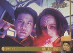 Star Trek Voyager Profiles Trading Card 53