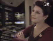 Troi in The Star Trek Logs