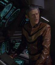 Vulcan Captain 20th century uniform