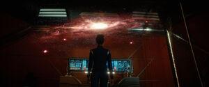 Burnham sees Spock's vision