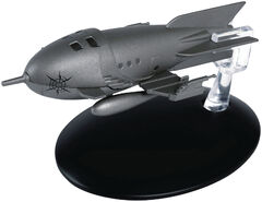Eaglemoss 111 Captain Protons Rocket Ship
