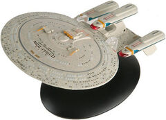 Eaglemoss Future USS Enterprise-D AGT gift premium