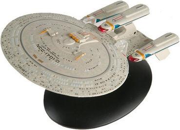 Eaglemoss Future USS Enterprise-D AGT gift premium