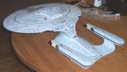 Official Star Trek TNG Build the USS Enterprise NCC-1701 -D model