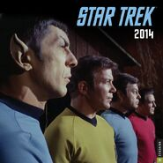 Star Trek Calendar 2014 cover