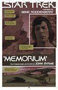 Star Trek New Visions Memorium