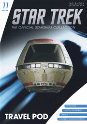 Star Trek Official Starships Collection Shuttle Issue 11
